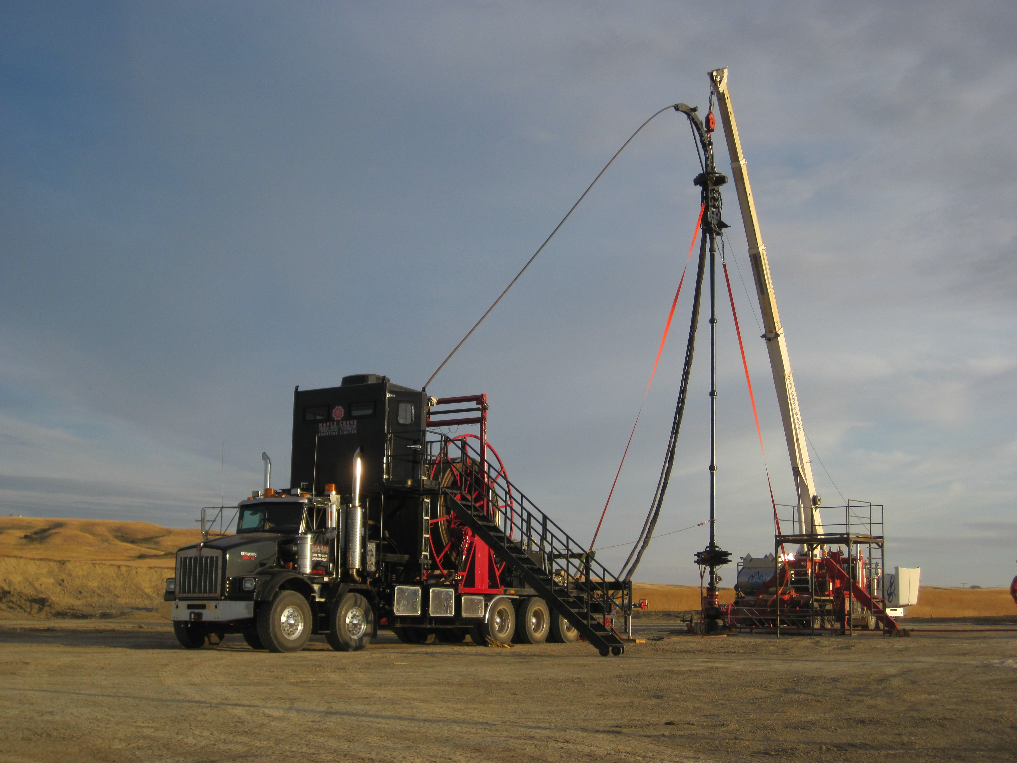 Coil Tubing Units Maple Creek Endless Tubing Services